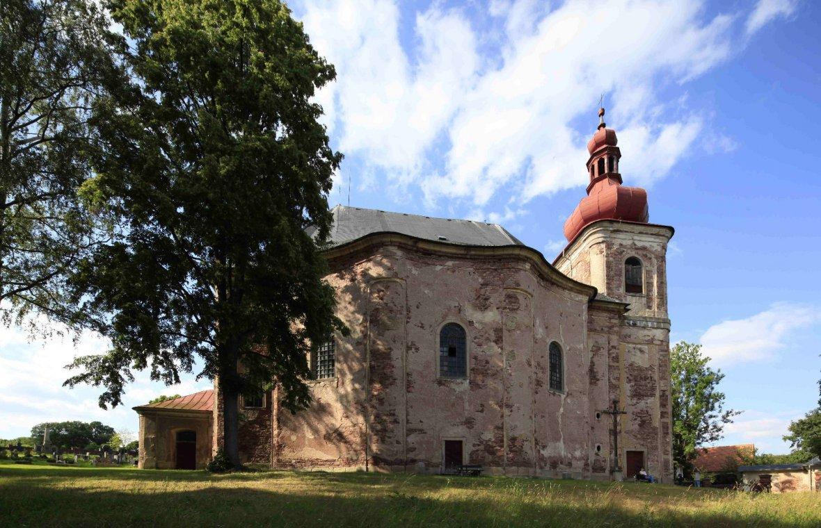 Kilian Ignaz Dientzenhofer: Entwurf der Pfarrkirche Allerheiligen, 1722 - 1723