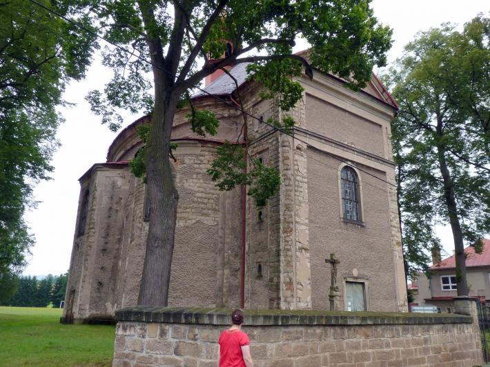 Kilian Ignaz Dientzenhofer: Bau der Pfarrkirche St. Barbara, wahrscheinlich nach Plänen von Christoph Dientzenhofer (Zuschreibung), 1725 - 1726