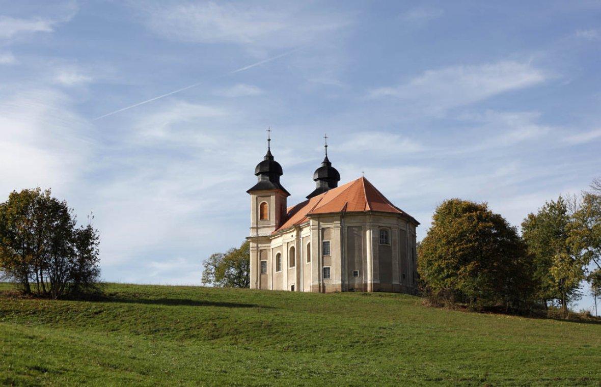 Kilian Ignaz Dientzenhofer: Bau der Kirche St. Margaretha (Zuschreibung), 1726 - 1730