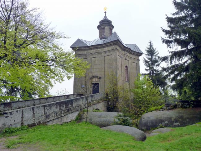 Kilian Ignaz Dientzenhofer: Bau der Kapelle der Jungfrau Maria in Stern (Zuschreibung), 1732 - 1733