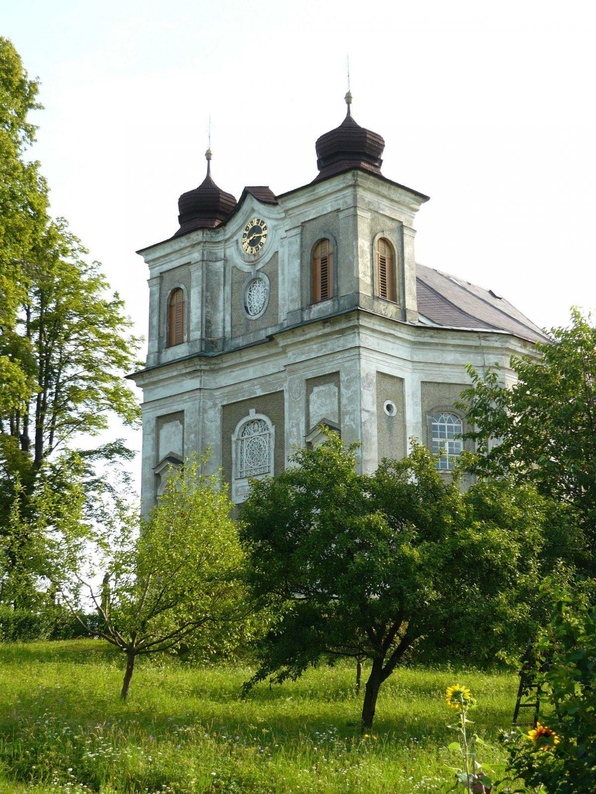 Kilian Ignaz Dientzenhofer: Entwurf für den Bau der Pfarrkirche St. Prokop, 1724 - 1727