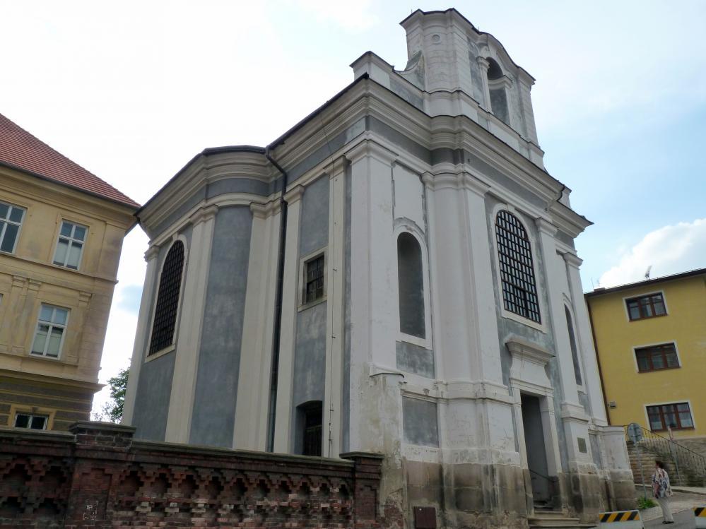 Kilian Ignaz Dientzenhofer: Bau der Pfarrkirche St. Wenzel (Zuschreibung), 1729