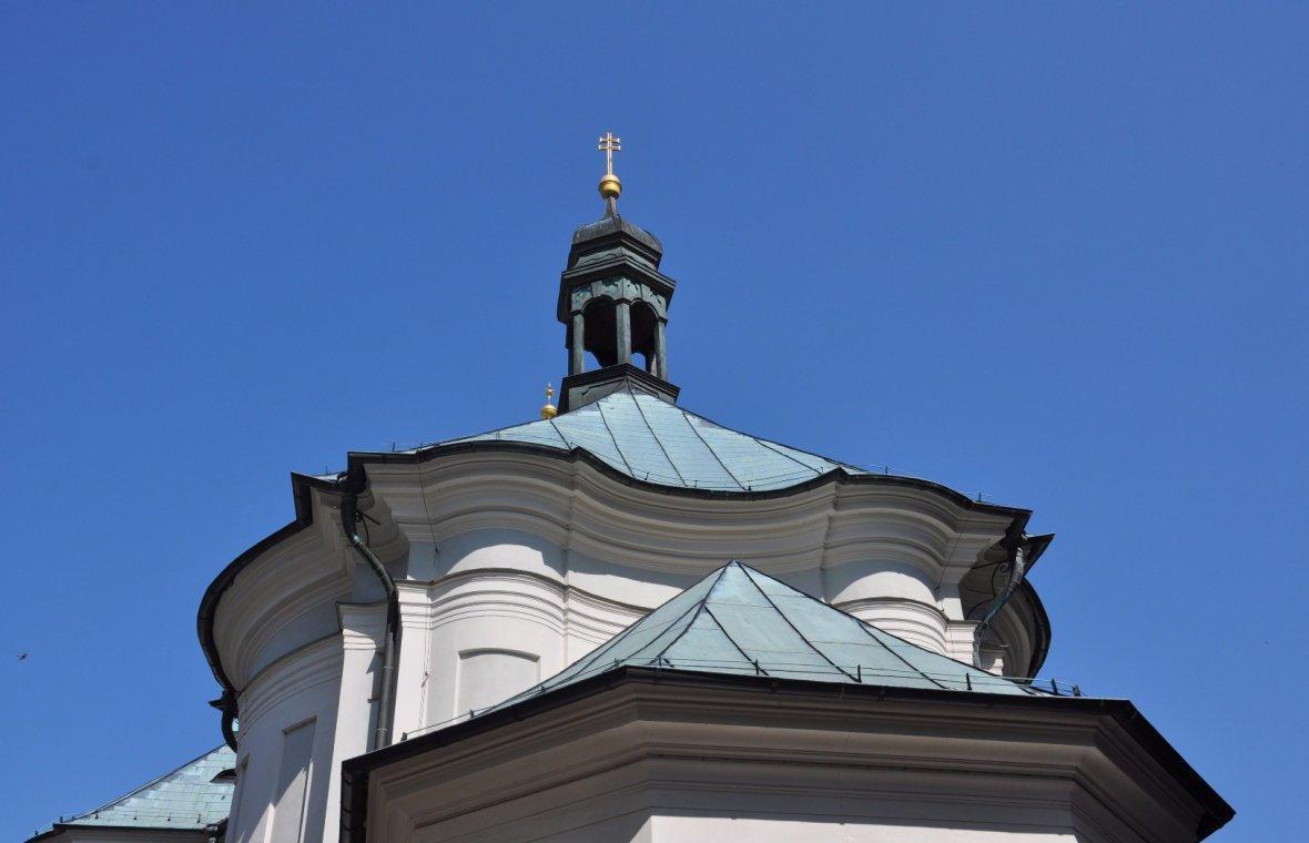 Kilian Ignaz Dientzenhofer: Pläne für den Neubau der Kreuzherren-Ordenskirche St. Maria Magdalena, 1727 - 1732