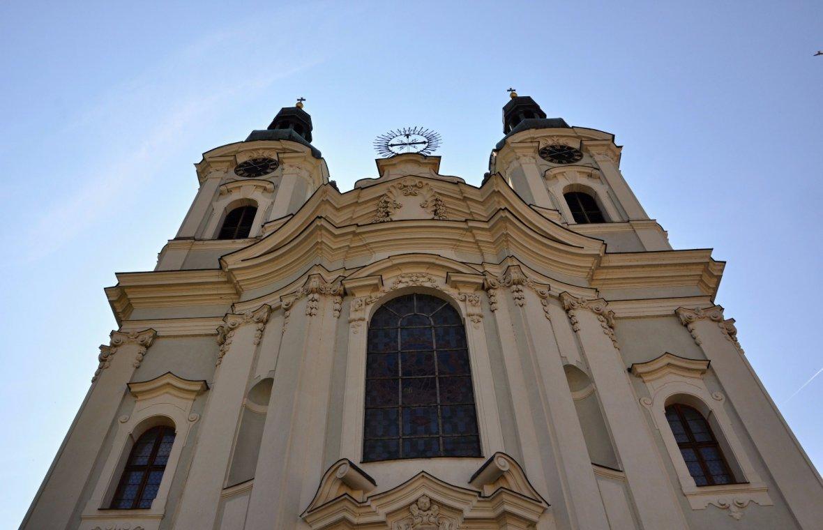 Kilian Ignaz Dientzenhofer: Neubau der Kreuzherren-Ordenskirche St. Maria Magdalena, 1733 - 1737