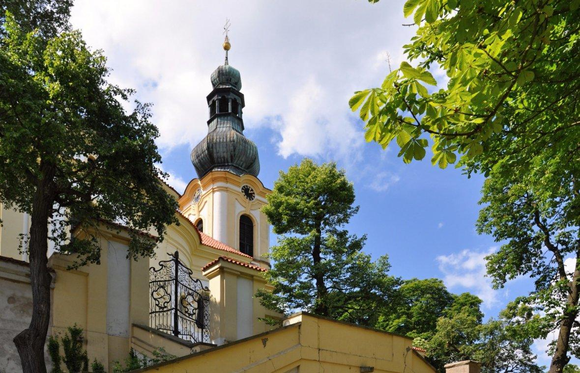 Kilian Ignaz Dientzenhofer: Bau der Jesuitenkirche St. Klemens, 1733 - 1735