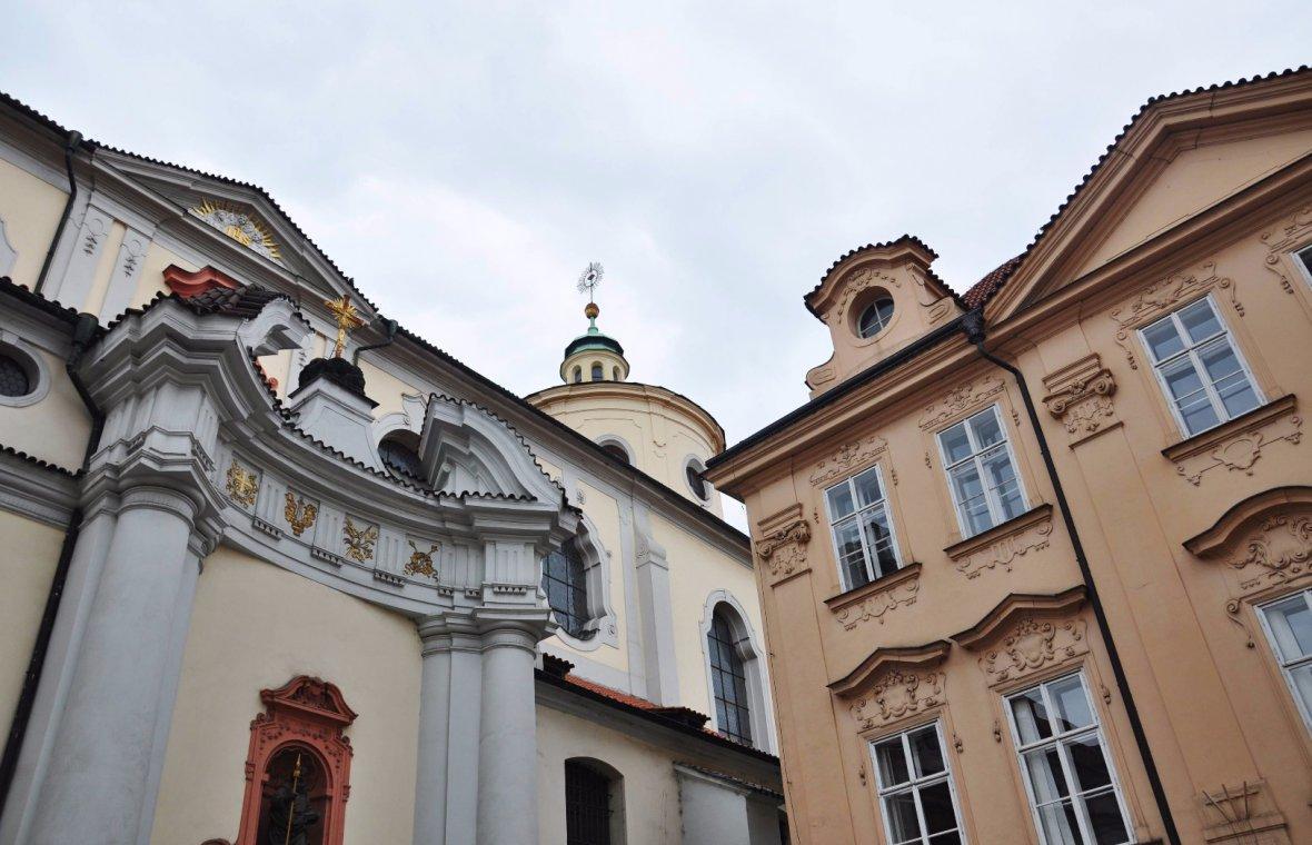 Kilian Ignaz Dientzenhofer: Umbau und Barockisierung von Innenraum, Gewölbe und Dach, 1727 - 1731