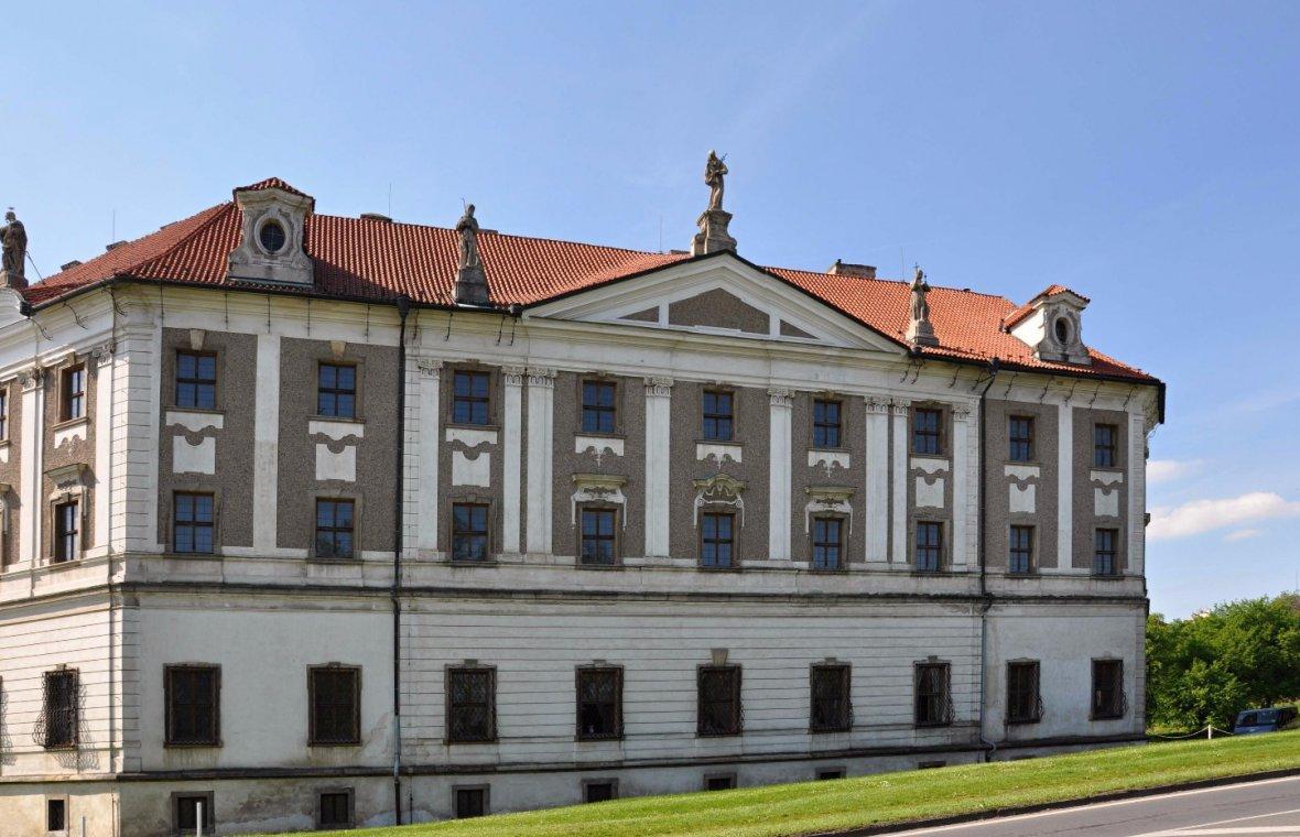 Kilian Ignaz Dientzenhofer: Bau etwa der Hälfte des geplanten Konvents, die Kirche wurde nicht gebaut., 1735 - 1749