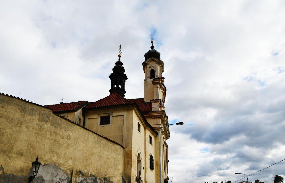 Kilian Ignaz Dientzenhofer: Bau der Klosterkirche, 1724 - 1725