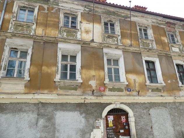 Kilian Ignaz Dientzenhofer: Bau des Hauses von Heinrich Dientzenhofer (Bruder) in der Všehrdovagasse 13, Konskriptions-Nummer 438-III, 1727 - 1728