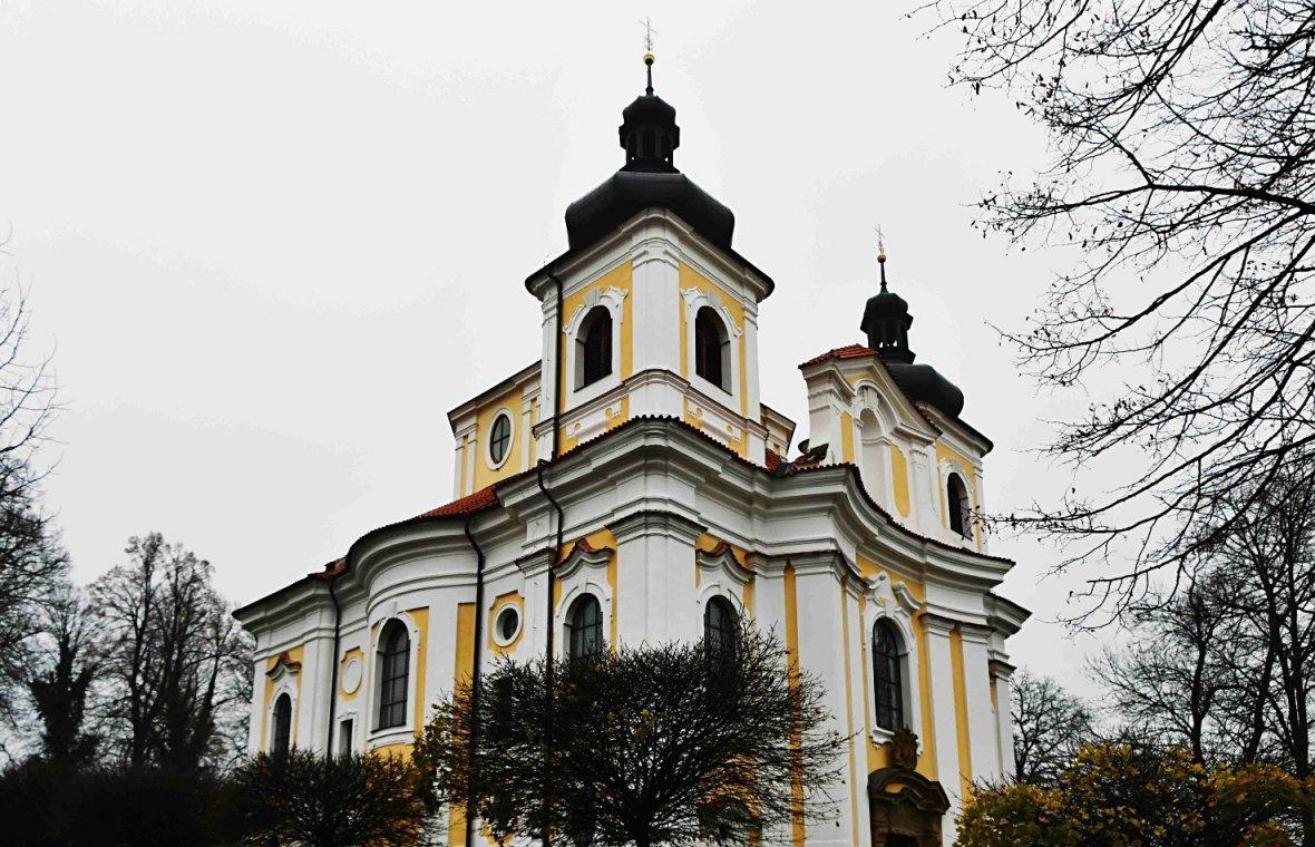 Kilian Ignaz Dientzenhofer: Bau der Wallfahrtskirche Mariä Geburt (Zuschreibung), 1717 - 1720