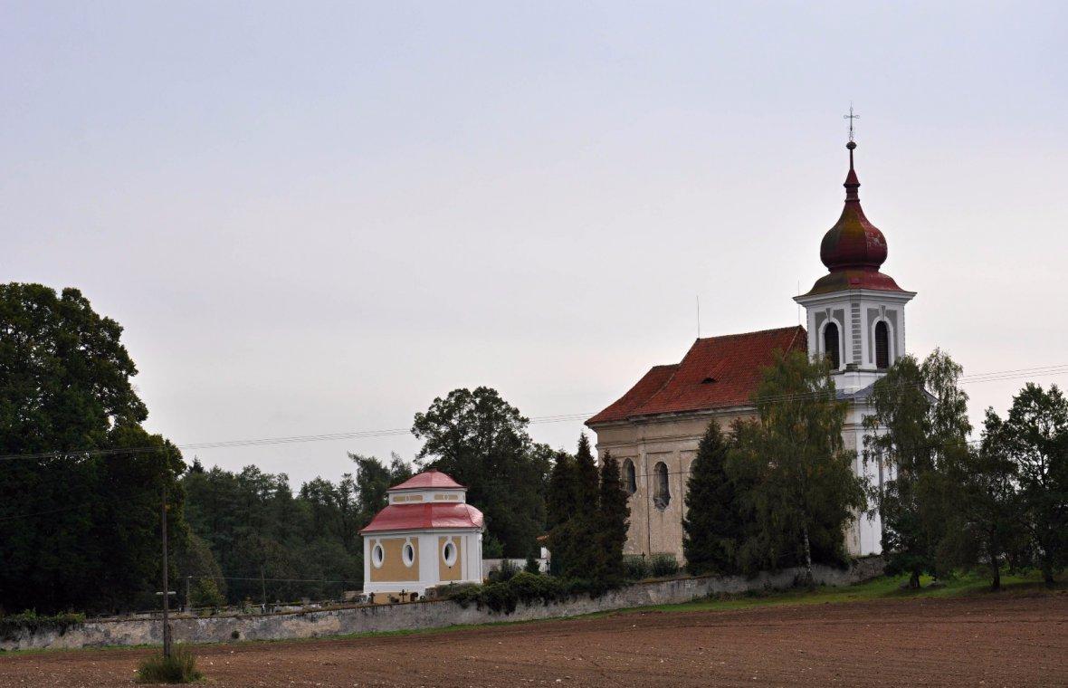 Kilian Ignaz Dientzenhofer: Bau der Totenkapelle auf dem Friedhof, 1752