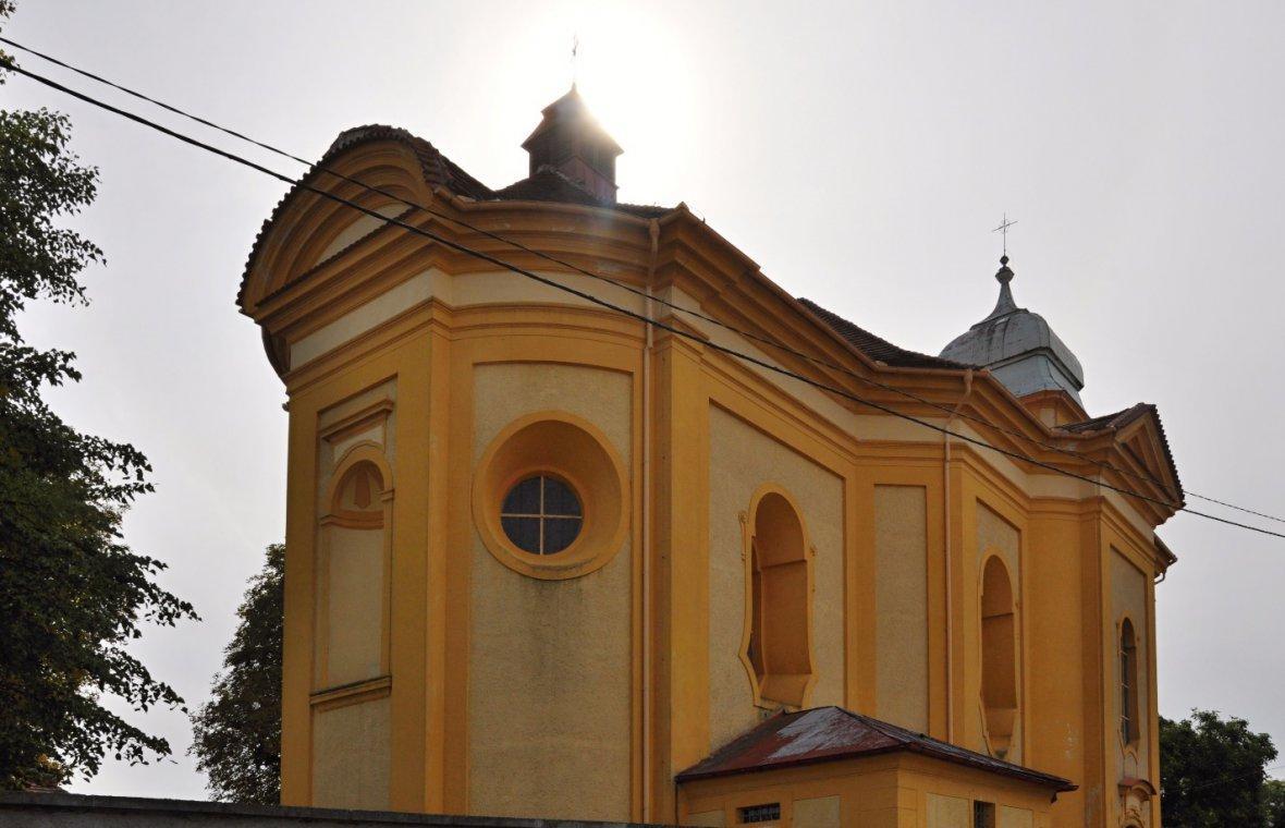 Kilian Ignaz Dientzenhofer: Bau der Pfarrkirche St. Martin, Fertigstellung nach seinem Tod 1753, 1747 - 1749