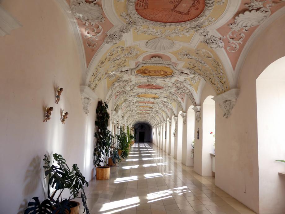 Johann Schmuzer: Stuckierung des Klosters im Gästetrakt und im Prälatentrakt, Undatiert