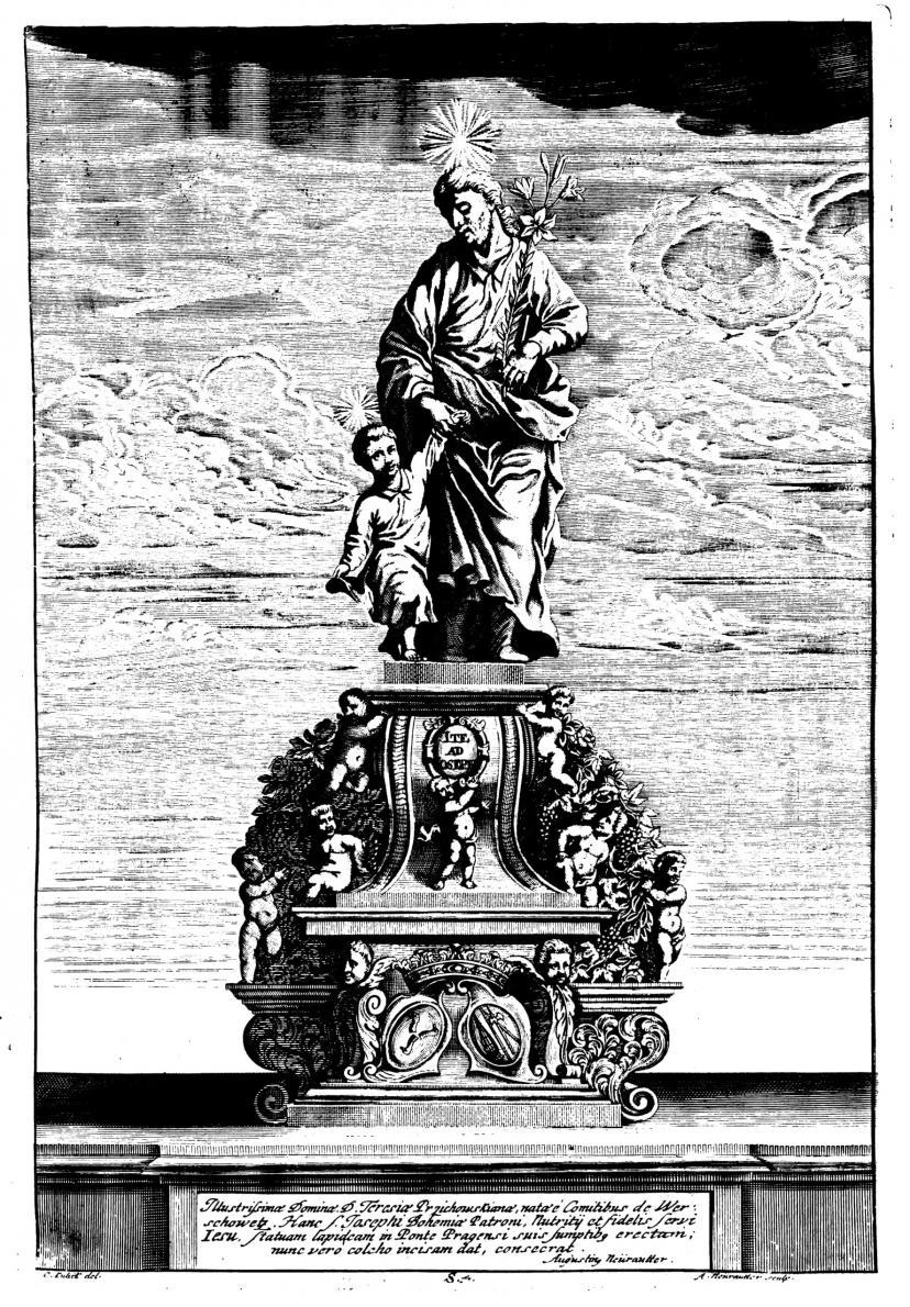Johann Brokoff: St. Joseph Verpfleger, 1707
