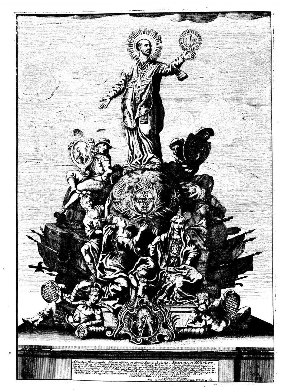 Ferdinand Maximilian Brokoff: Der Triumph des hl. Ignatius von Loyola, 1711