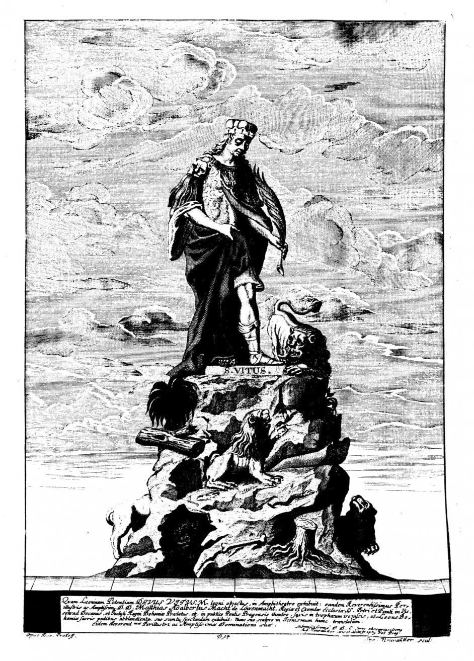Ferdinand Maximilian Brokoff: S. Veit, 1714