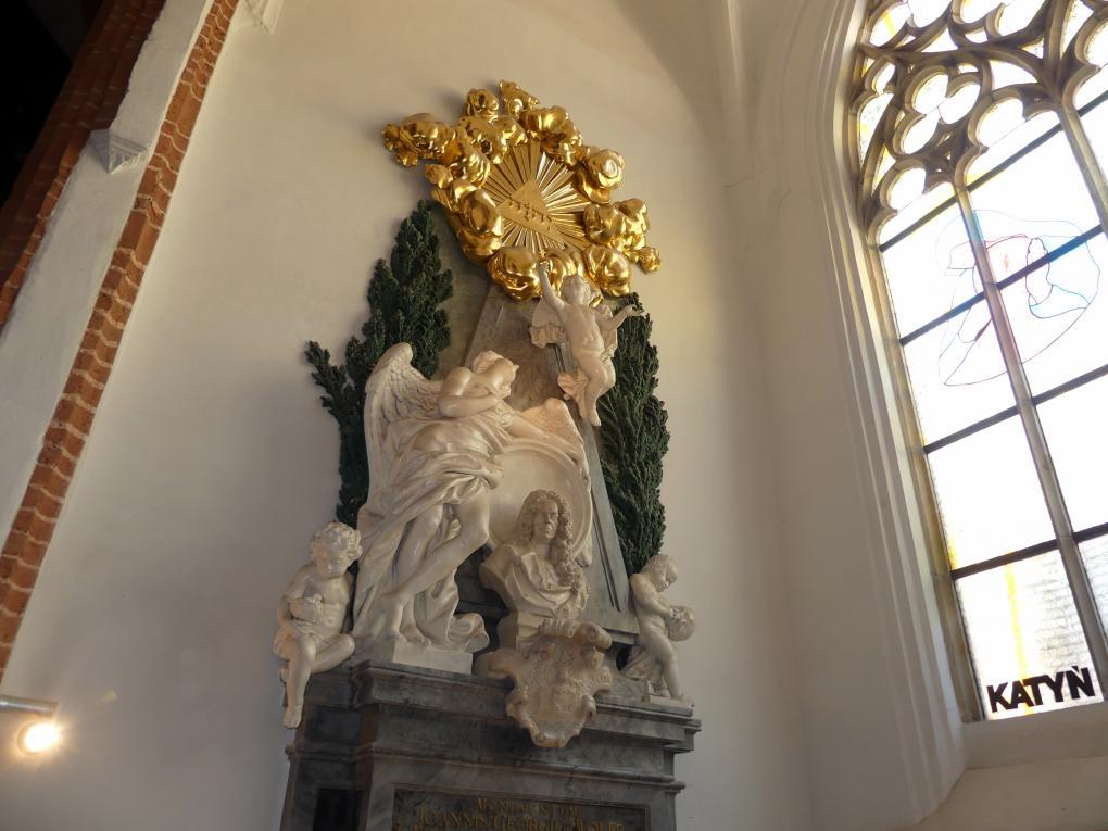 Ferdinand Maximilian Brokoff: Grabmal des Johann Georg von Wolff (gemeinsam mit Johann Adam Karinger, Entwurf von Johann Bernhard Fischer von Erlach), 1721 - 1723