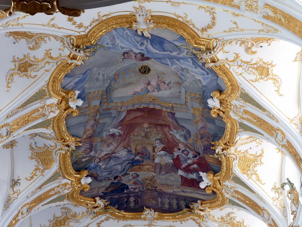 Christoph Thomas Scheffler: Freskenzyklus in der Stiftskirche zu Unserer Lieben Frau zur Alten Kapelle Regensburg, 1752 - 1753