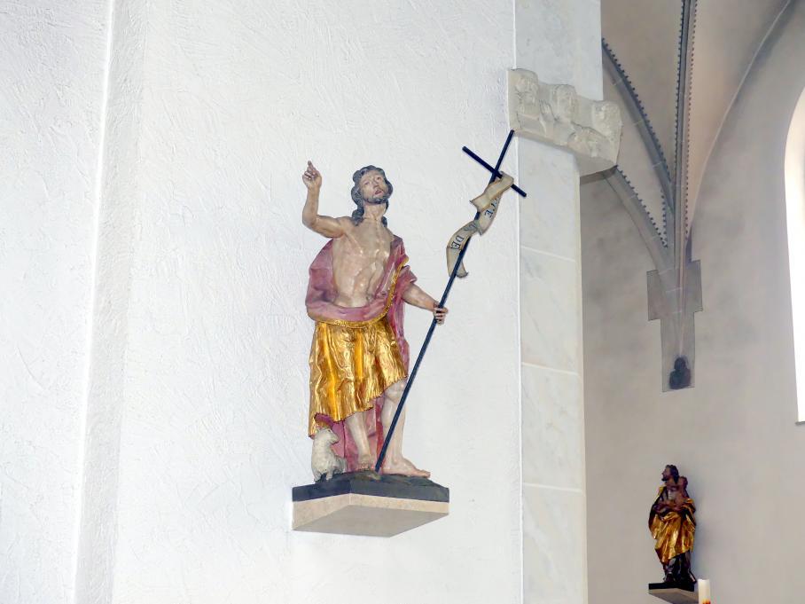 Johann Joseph Christian: Hl. Johannes der Täufer, 1755