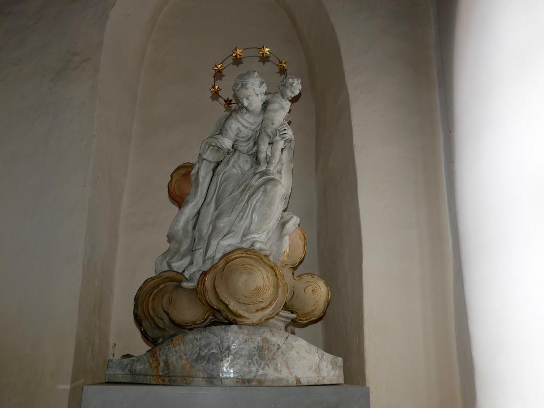 Johann Joseph Christian: Wolkenmadonna, ehemalige Tabernakelfigur, 1773
