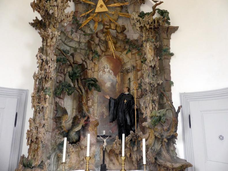 Johann Joseph Christian: Altar mit hl. Magnus, 1749