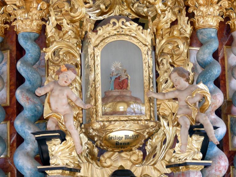Christian Jorhan der Ältere: Zwei Putten, 1770 - 1772