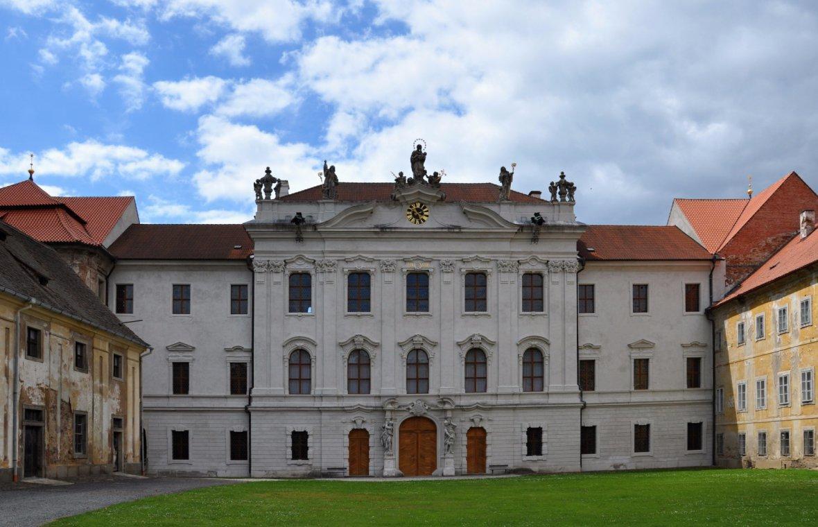 Johann Blasius Santini Aichel: Baupläne für den Neubau des Klosterkonvents Kladrau, 1723
