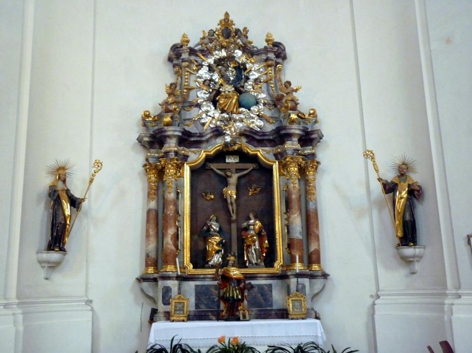 Simon Sorg: Hll. Maria und Johannes, 1740