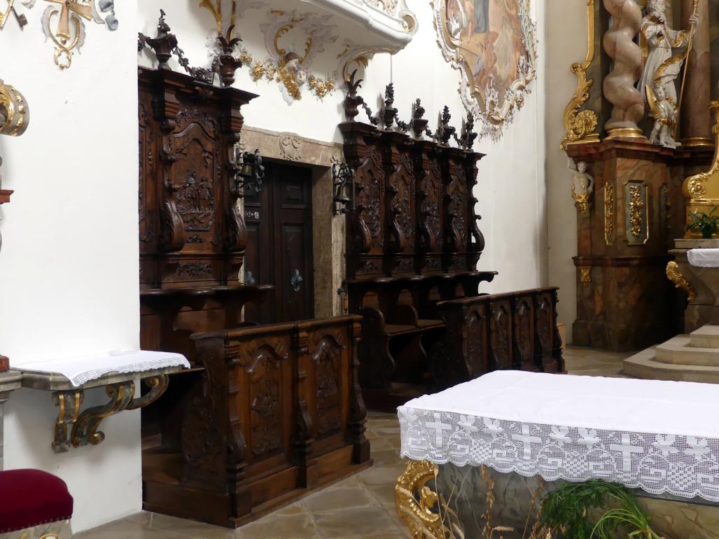 Simon Sorg: Chorgestühl, 1748 - 1750