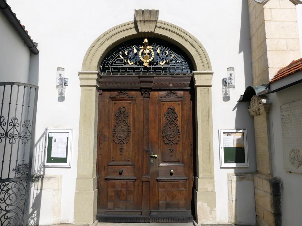 Simon Sorg: Türflügel des Südportals zur Gnadenkapelle, 1785 - 1790