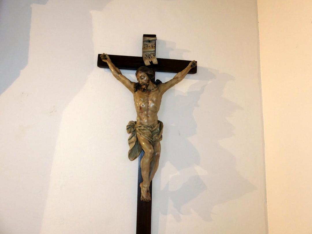 """Johann Joseph Christian: Kruzifix """"Der lächelnde Gekreuzigte"""", 1755"""