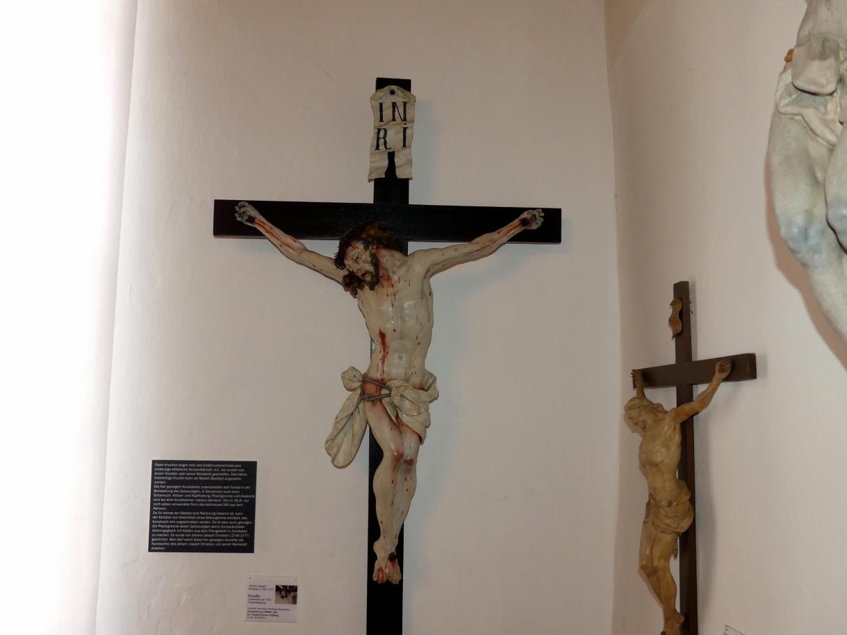 Johann Joseph Christian: Kruzifix aus einem Riedlinger Bürgerhaus, 1750