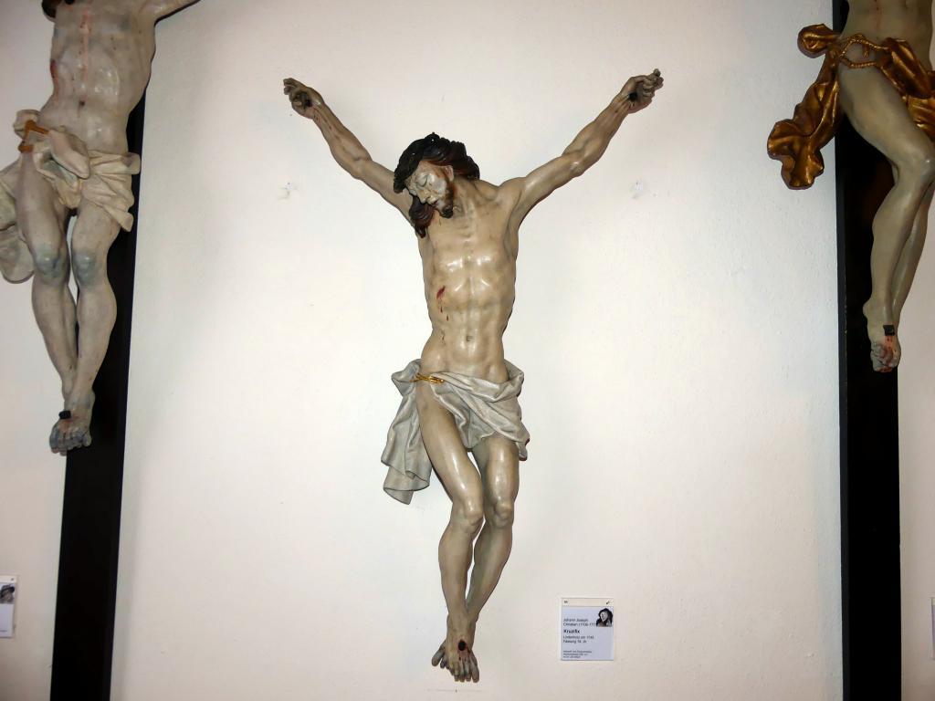 Johann Joseph Christian: Kruzifix, 1745