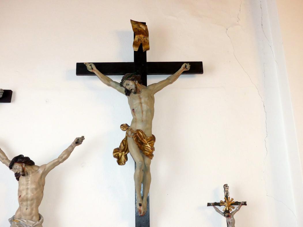 Johann Joseph Christian: Stuck-Kruzifix, 1745