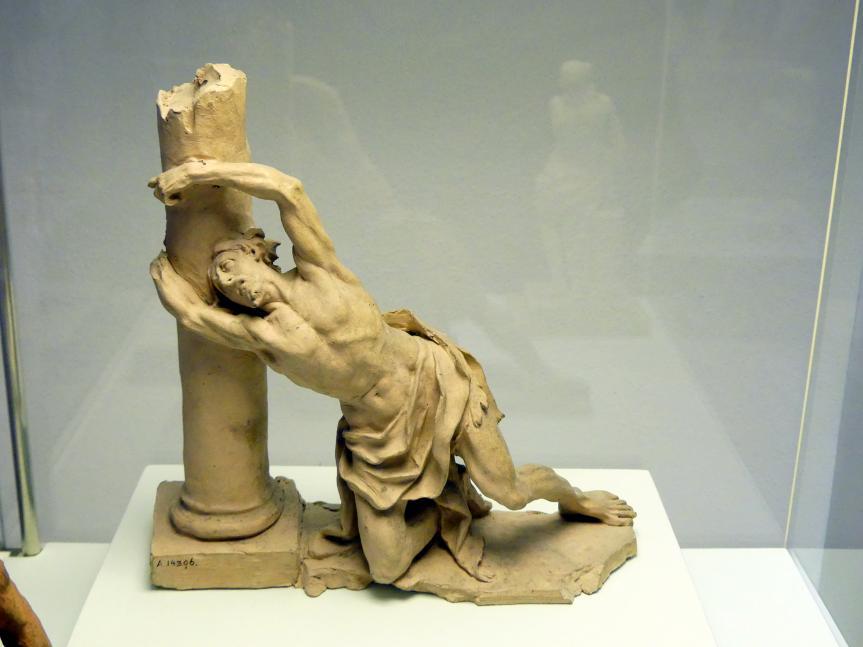Johann Peter Wagner: Bozzetto Christus an der Geißelsäule, 1765