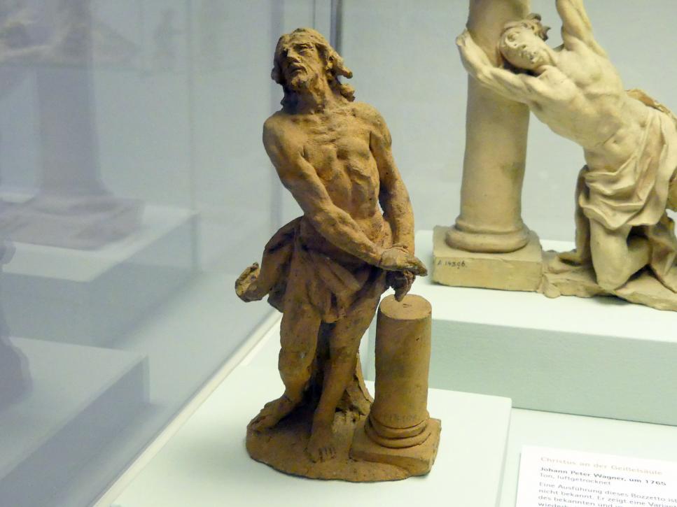 Johann Peter Wagner: Christus an der Geißelsäule, um 1765