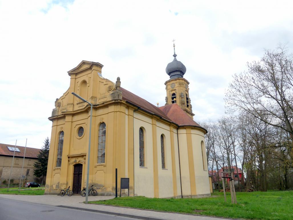 Balthasar Neumann: Pläne für den Neubau der Pfarrkirche zur Heiligsten Dreifaltigkeit (gebaut 1742-1745), 1740