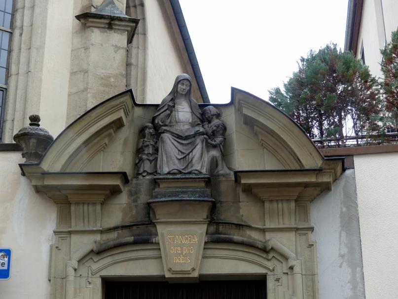 Balthasar Neumann: Neubau des Klostergebäudes des Ursulinenkloster Mariä Verkündigung in Würzburg, 1738 - 1740