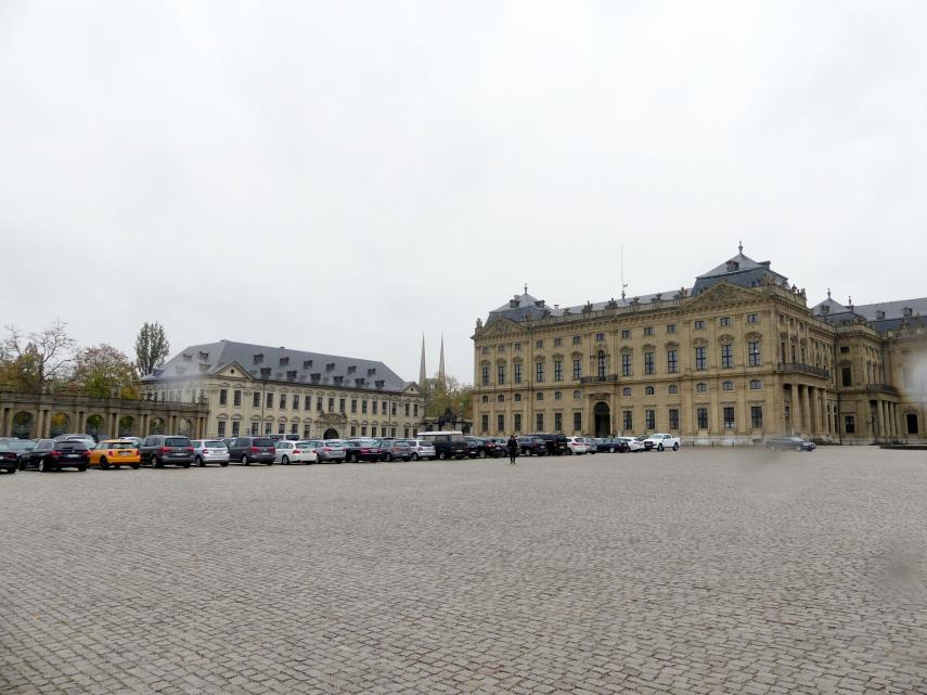 Balthasar Neumann: Bau der ehem. fürstbischöfliche Residenz in Würzburg, 1720 - 1744