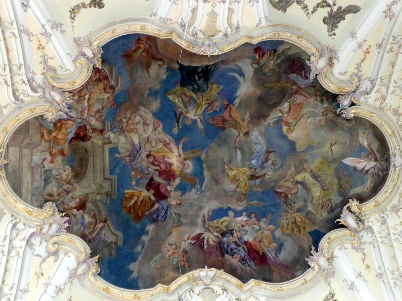 Matthias Schiffer : Langhausfresko (nach 1770), nach 1770