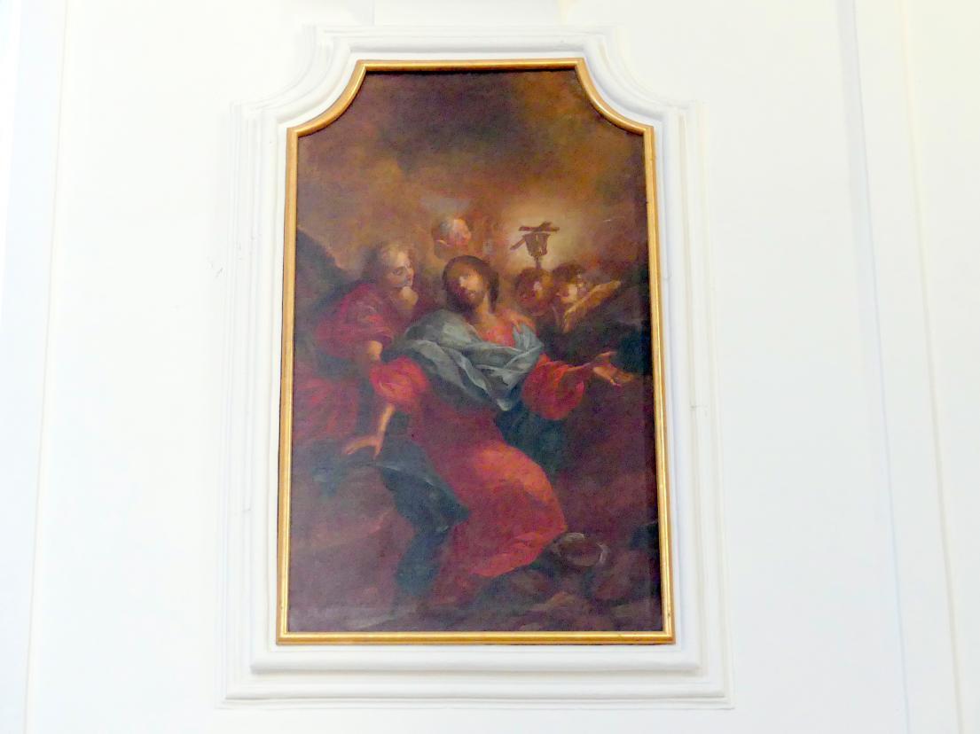 Johann Georg Bergmüller: Christus am Ölberg, 1713 - 1714