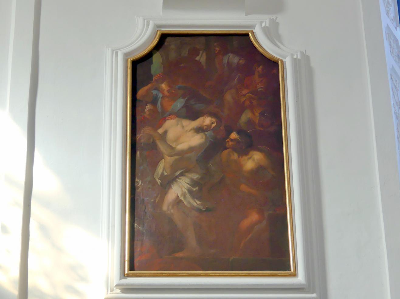 Johann Georg Bergmüller: Christus an der Geißelsäule, 1713 - 1714