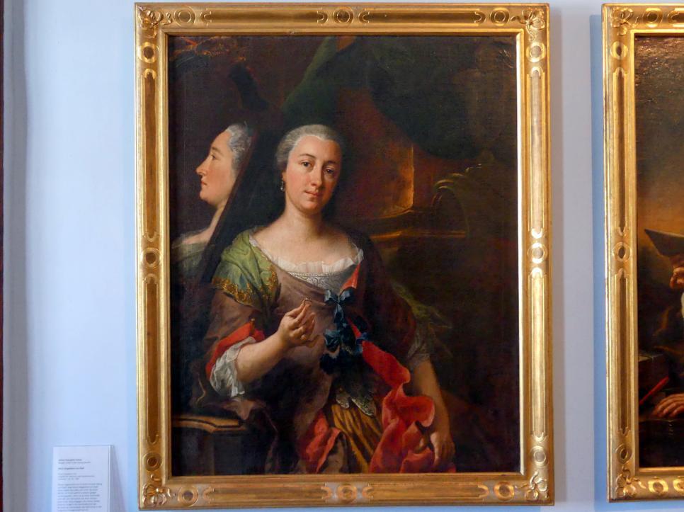 Johann Evangelist Holzer: Portrait der Maria Magdalena von Köpf, 1735