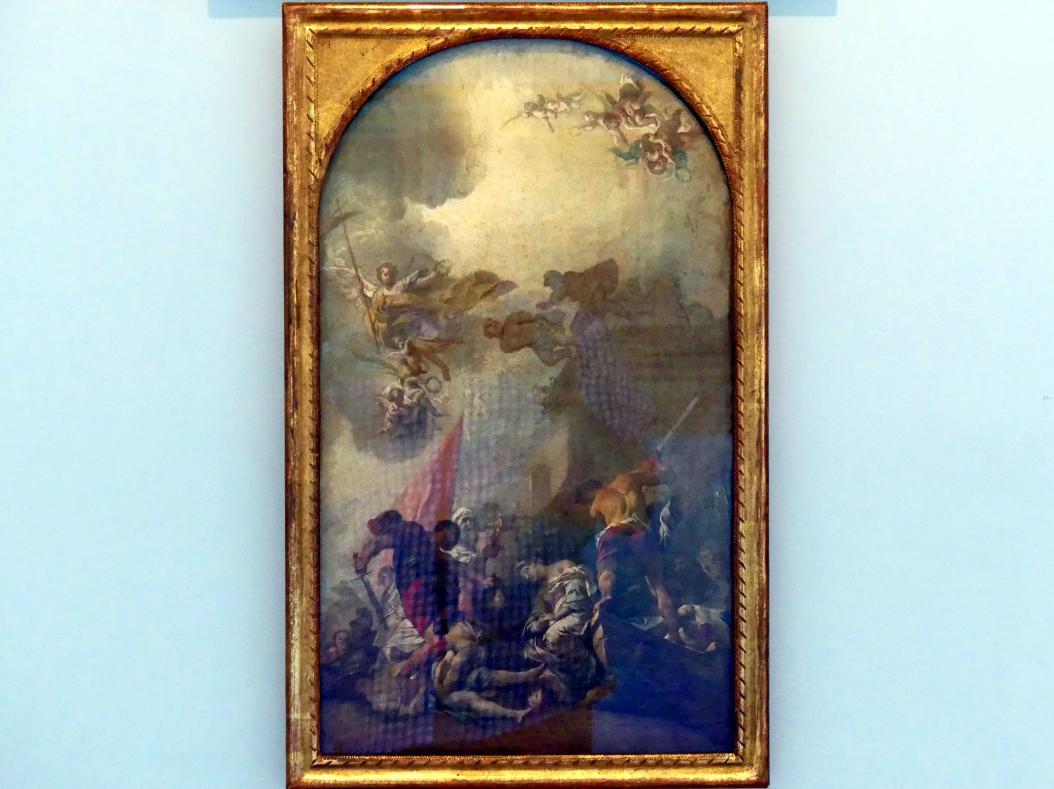 Johann Evangelist Holzer: Marter der Hl. Felicitas und ihrer sieben Söhne, 1739