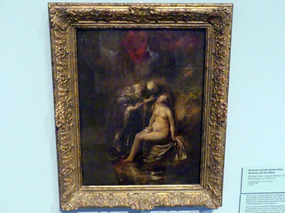 Michael Willmann: Susanna und die beiden Alten, Um 1650 - 1653