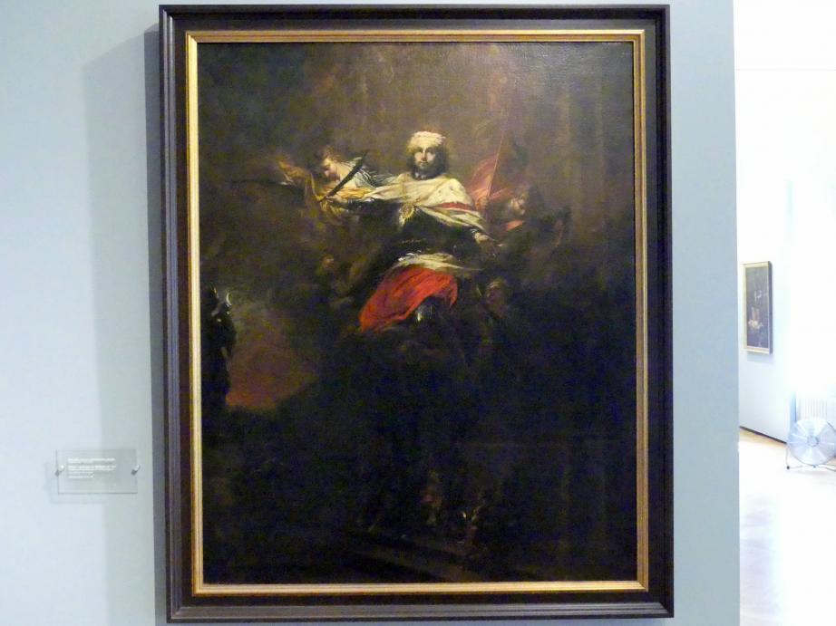 Michael Willmann: Tod und Apotheose des Hl. Wenzeslaus, um 1690
