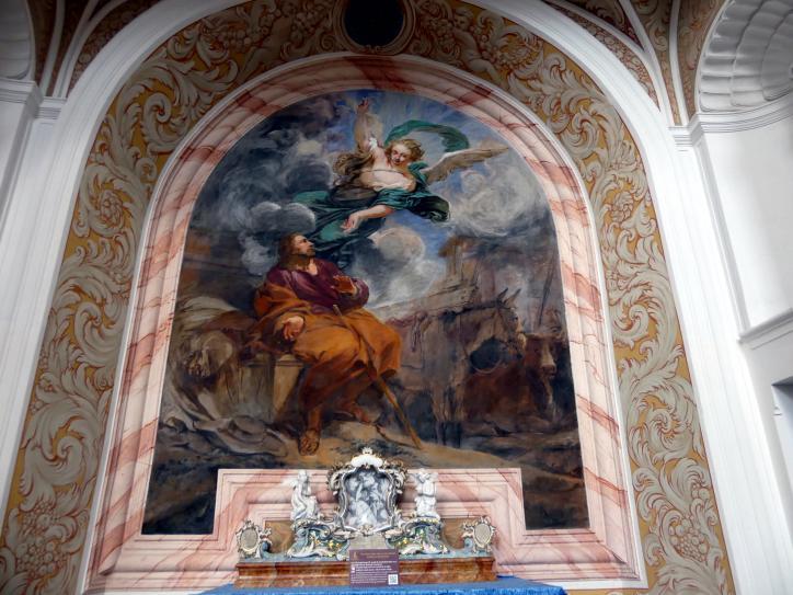 Michael Willmann: Verkündigung an Joseph, 1693 - 1695