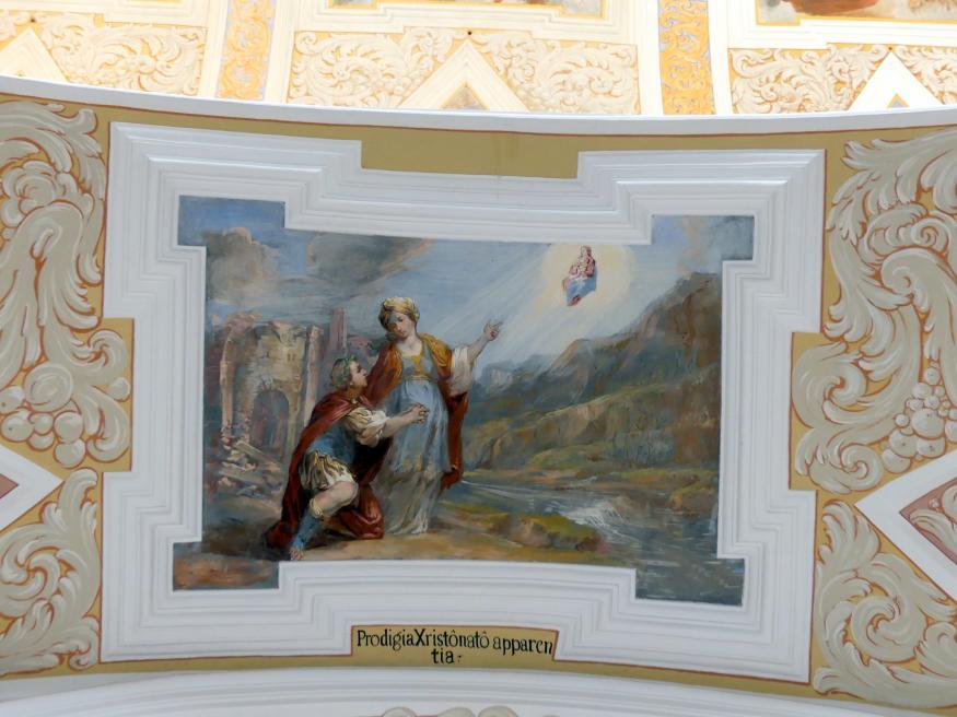 Michael Willmann: Die Sibylle von Tibur zeigt dem Kaiser Augustus die Gottesmutter mit dem Erlöser, 1693 - 1695