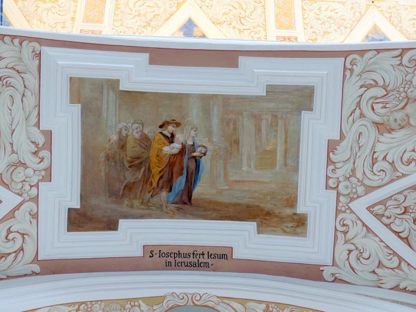 Michael Willmann: Joseph trägt das Kind zum Tempel, 1693 - 1695