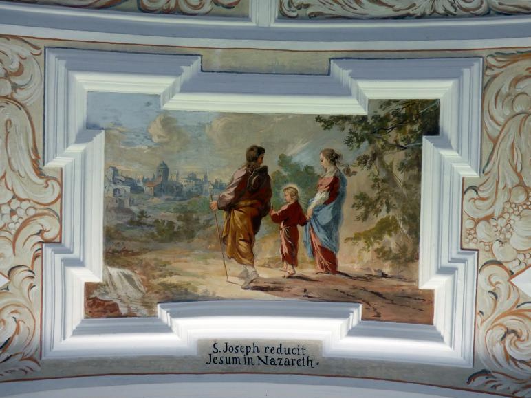 Michael Willmann: Joseph führt den zwölfjährigen Jesus zum Tempel, 1693 - 1695